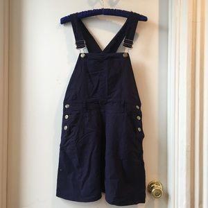 Sportmax Max Mara overall romper dress navy blue